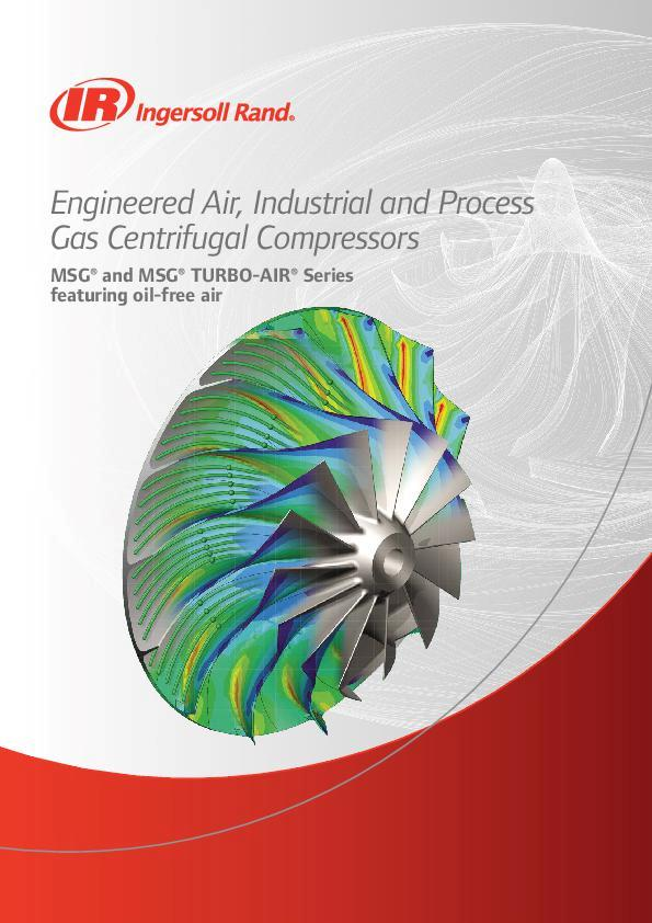 MSG and MSG TURBO-AIR Engineered Centrifugal Compressors Brochure A4