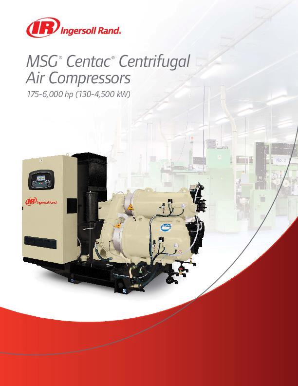 MSG Centac Centrifugal Air Compressors Overview Brochure