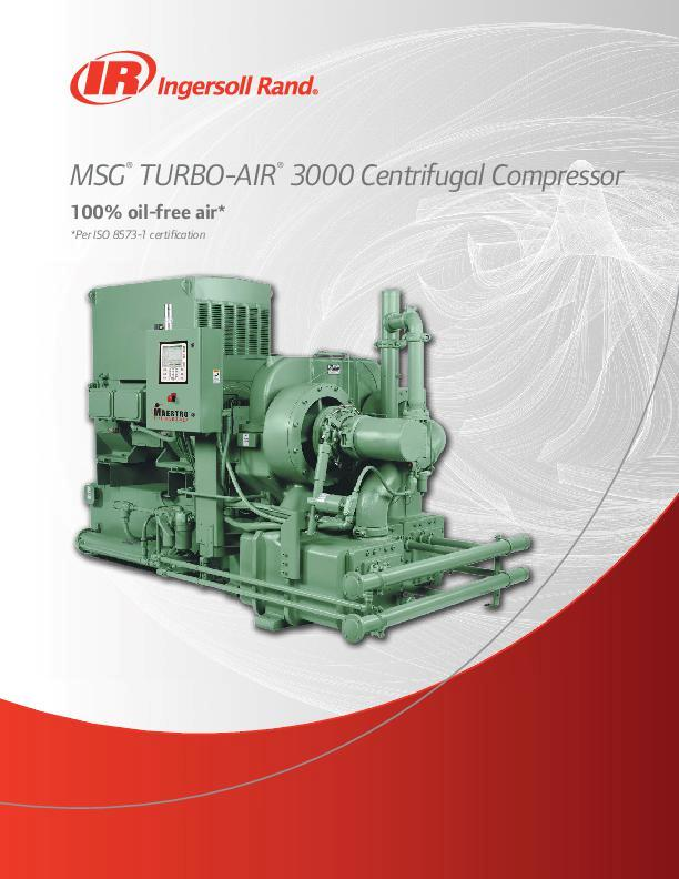 MSG TURBO-AIR 3000 Brochure A4