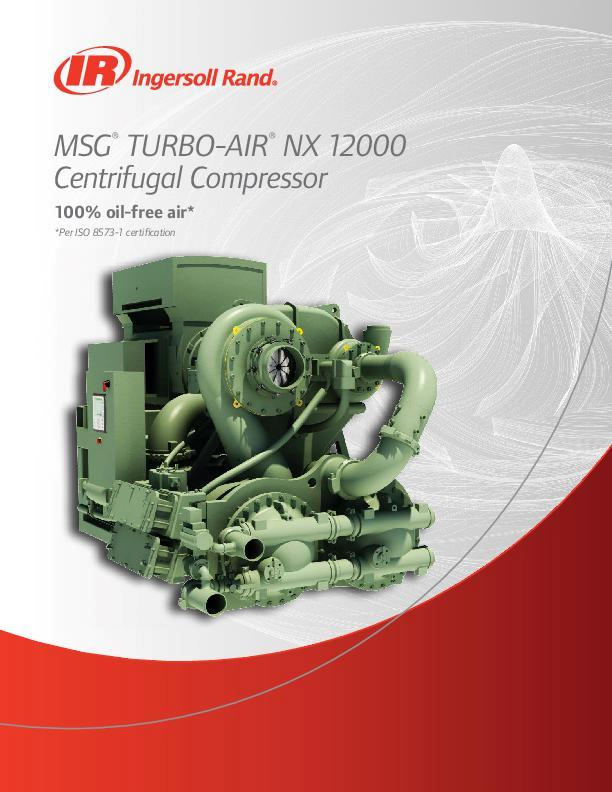 MSG TURBO-AIR NX 12000 Brochure