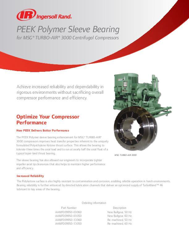 PEEK Sleeve Bearing Flyer