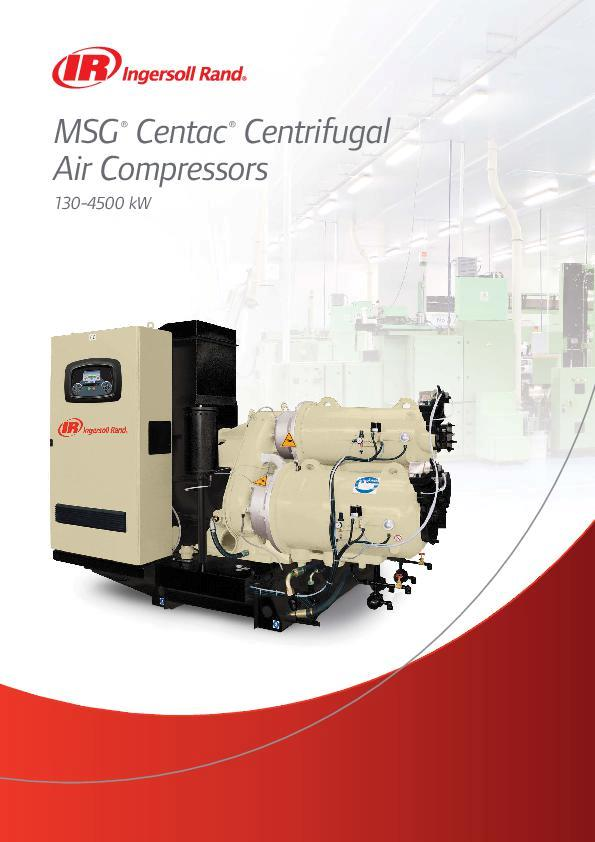 MSG Centac Centrifugal Air Compressors Overview Brochure A4