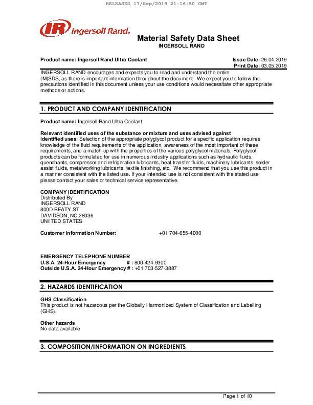 Safety-Data-Sheet-Ultra-Coolant-Columbia-English
