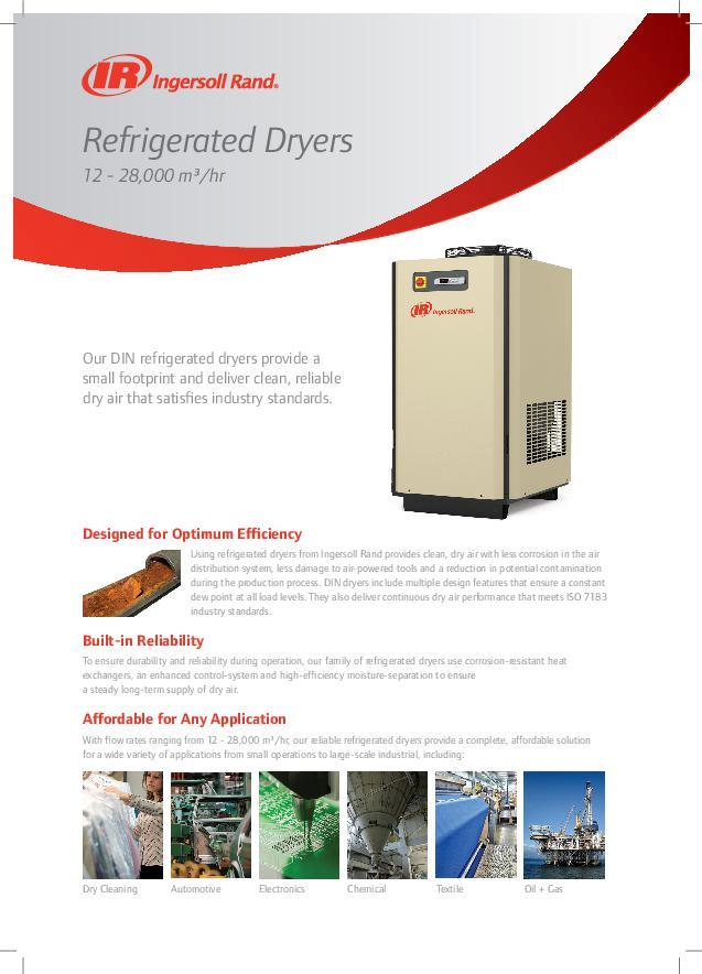 IRITS-0418-046-DIN-Refrigerated-Dryer-Datasheet