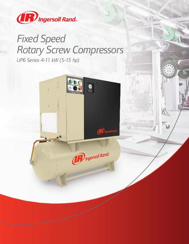 UP6-4-11-kW-Oil-Flooded-Rotary-Screw-Compressors