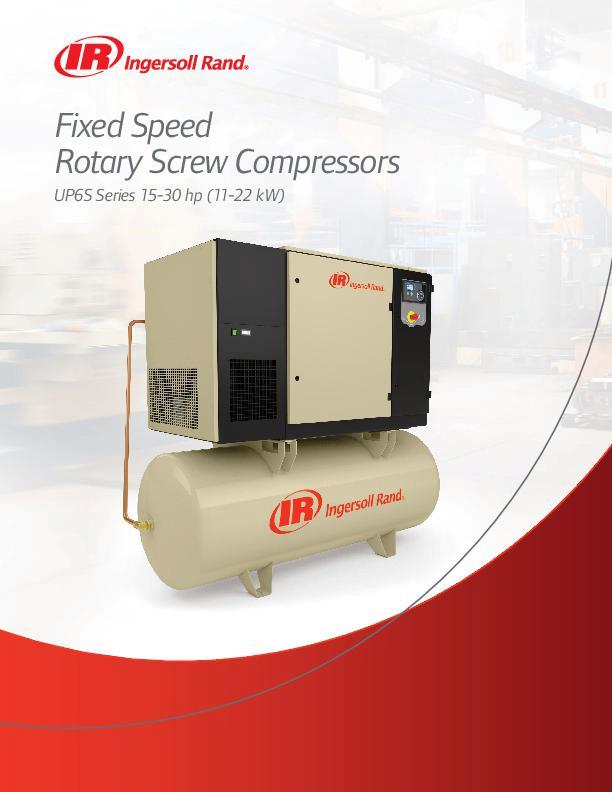 UP6S-11-22-kW-Oil-Flooded-Rotary-Screw-Compressors