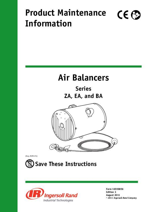 16598856_ed3_ Air Balancer Maintenance Manual