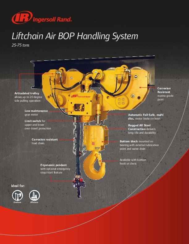 Liftchain Air BOP Flyer
