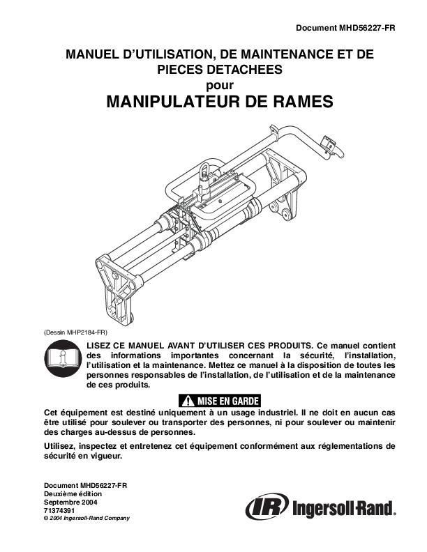 MHD56227FRed2SBH Parts Operation  Maintenance Manual