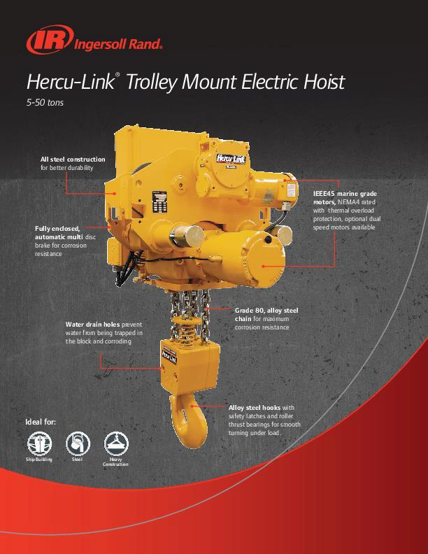 Herculink Trolley mount flyer