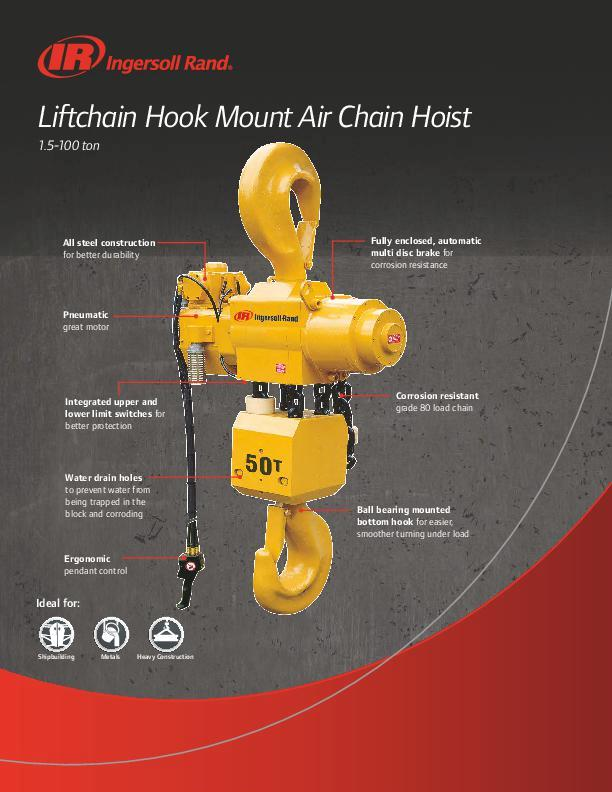 Liftchain Air Hook Mount Flyer