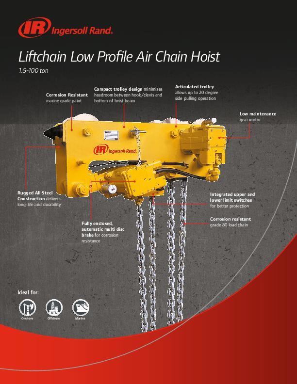 Liftchain Low Profile Air Flyer