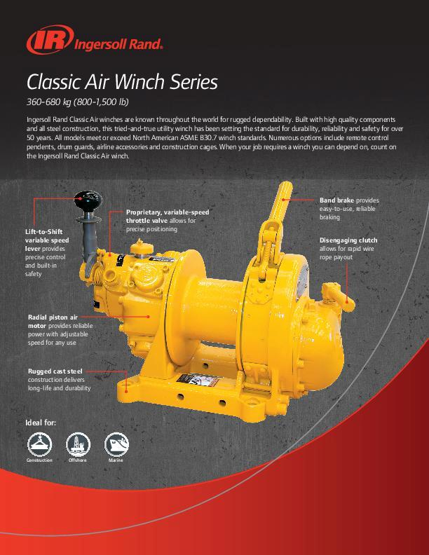 Clssic Air Winch Flyer