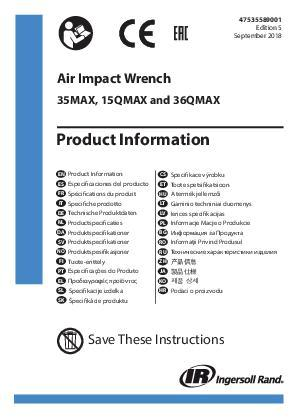 36QMAX15QMAX Product Information