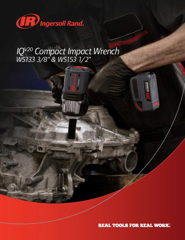 IRITS0219011W5133W5153 IQV20 Impact Wrench Flyer