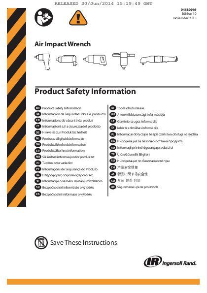 SafetyManualAirImpacts04580916KEd10